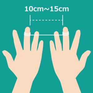 デンタルフロス 糸巻きタイプ 糸の間隔
