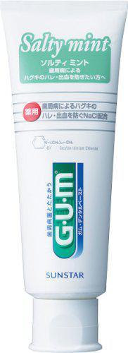 GUM(ガム)・デンタルペースト ソルティミント スタンディング 150g