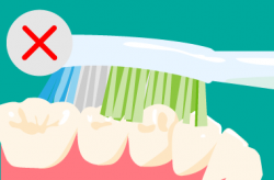 ダメな歯の磨き方