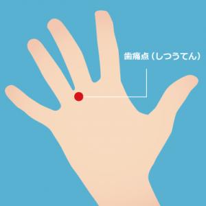 手の平の『歯痛点』
