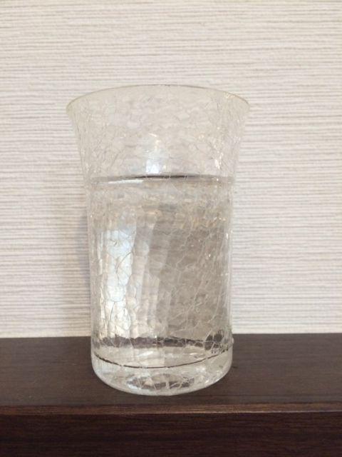 コップ1杯のお水で作る場合 水の用意