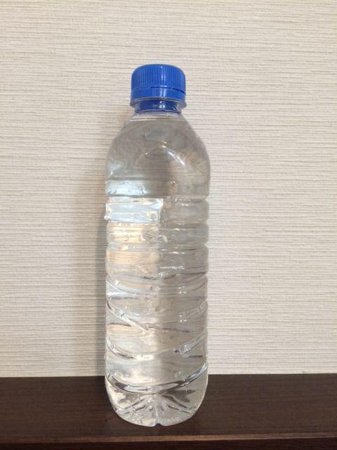 重曹水の作り方 水の用意
