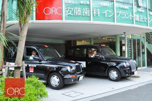 安藤歯科医院・ORCインプラント矯正センターの送迎車