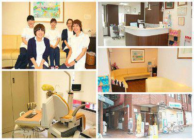 岩崎矯正歯科のスタッフと院内写真