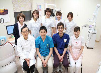 いしはた歯科クリニックの先生とスタッフ