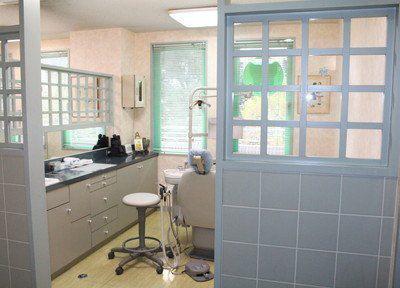 リバーシティ歯科クリニック 診療室