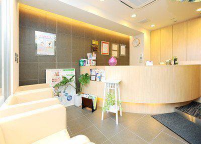 城徳歯科医院 受付
