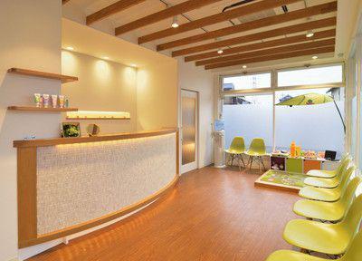 オハナ歯科クリニックの待合室