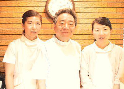 日本橋中央歯科の先生とスタッフ