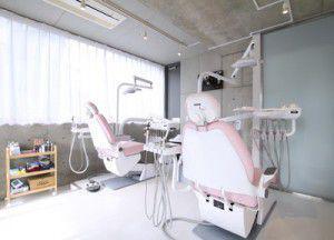 麻布十番クレールデンタルクリニックの診療室