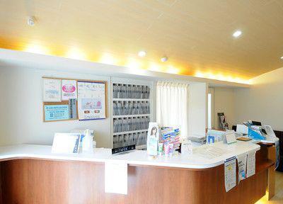 ミヤケ歯科医院の受付