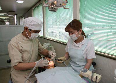 元吉田あきやま歯科 診療風景