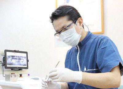 かなまる歯科クリニックの治療風景