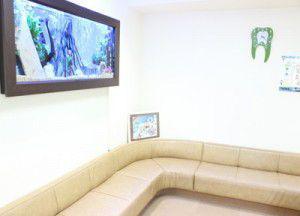 白くま歯科の待合室