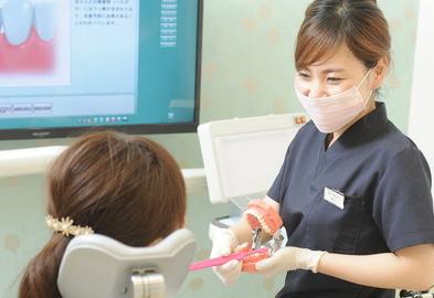 古橋歯科 衛生士による指導