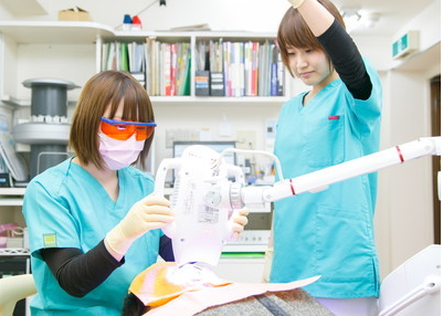 門口歯科診療所 治療風景