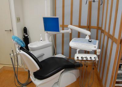 あっぷるいーと吉祥寺歯科 落ち着いた診療室
