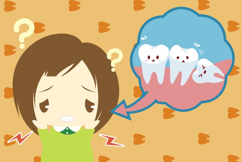 親知らず 顎関節症ai