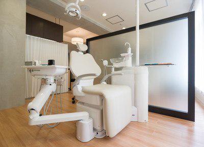 帆鷲デンタルクリニック赤坂南の診療室
