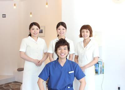 有枝歯科クリニック平尾の先生とスタッフ