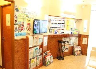 窪田歯科の待合室