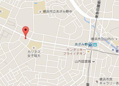 あざみ野青葉デンタルクリニック.地図