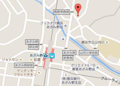 しこね歯科医院.地図
