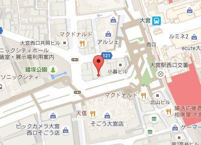 SHIN矯正歯科ホワイトエッセンス.地図