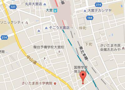 なみこし歯科医院.地図