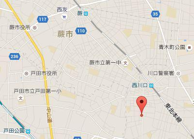 中川歯科医院.地図