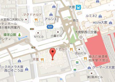 スマイルクリエイト歯科・矯正歯科.地図