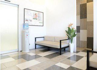 川上歯科あべの診療所 待合室