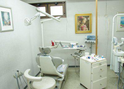 十条駅十条わたなべ歯科院内