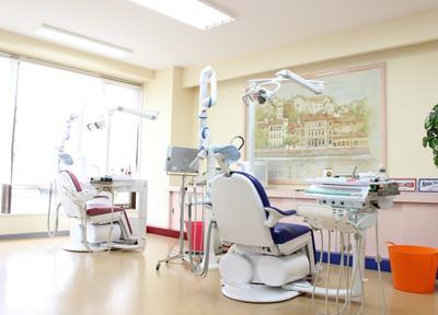 中川区ながせ歯科院内