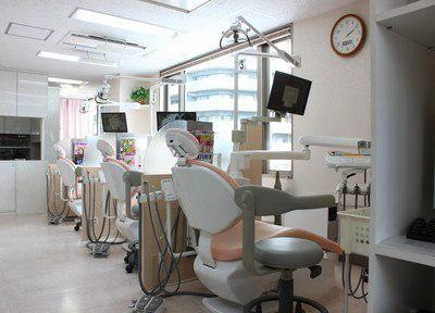 町屋駅井上歯科医院院内