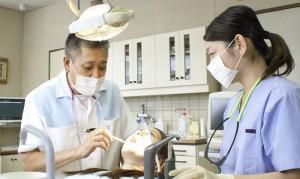 植木歯科医院 診療風景