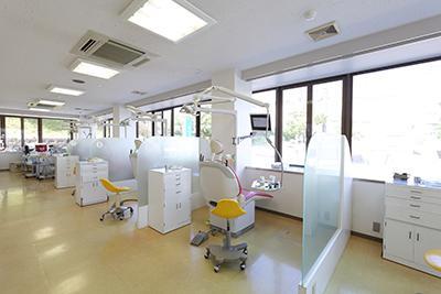 ホワイト歯科大池公園 診察室