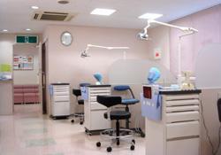 いわなが歯科 診察室
