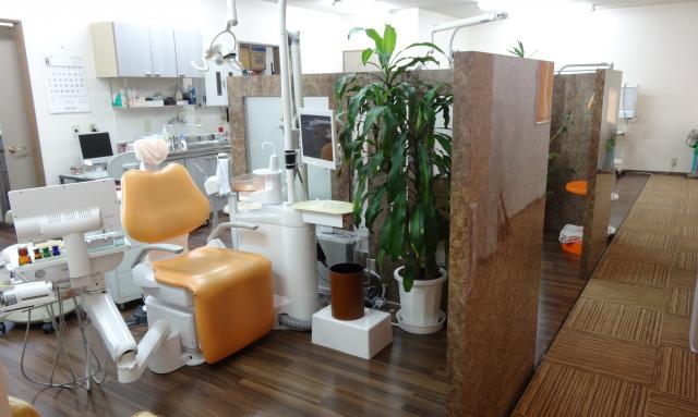 ふきの台歯科 診察室