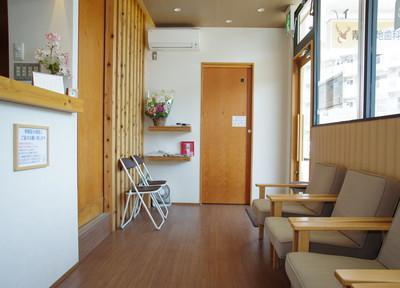 青葉団地歯科医院 待合室