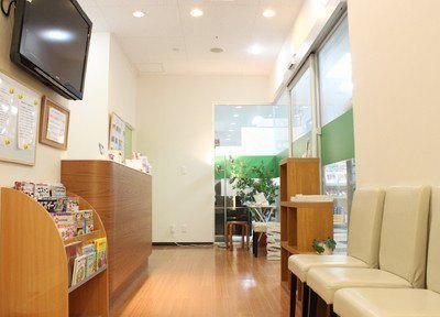 草加クレイン歯科クリニック 待合室