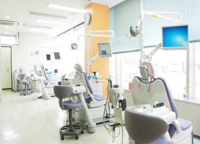 西調布シティデンタルクリニック 診察室