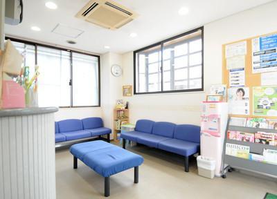 いわた歯科医院 待合室