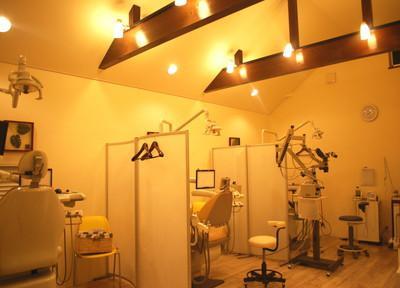 つくばホワイト歯科 診察室