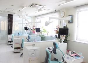 はないけ歯科 診察室