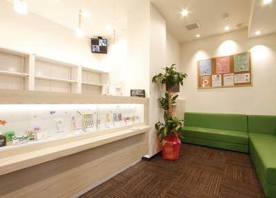 すみの歯科 待合室