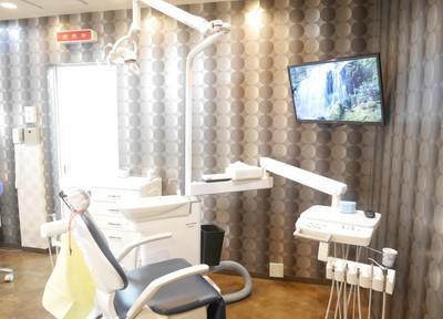 彩デンタルクリニック 診察室