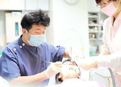 もとはら歯科クリニック 診察風景