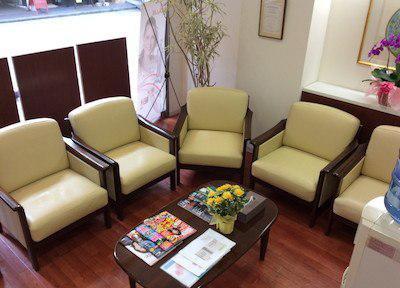 くすのき歯科医院 待合室