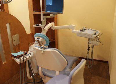 コアシティ歯科クリニック 診療台